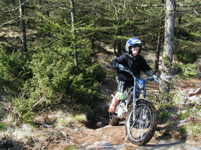 Mathias på Sherco 2.9, 2008